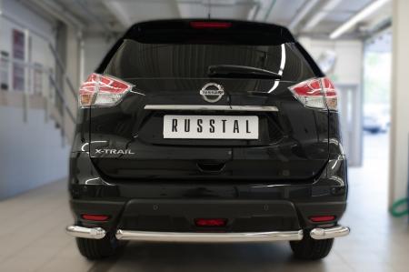 Nissan X-Trail 2015 Защита заднего бампера d63 (дуга) NXZ-002091